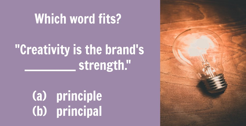 Principal vs. principle: What's the difference?