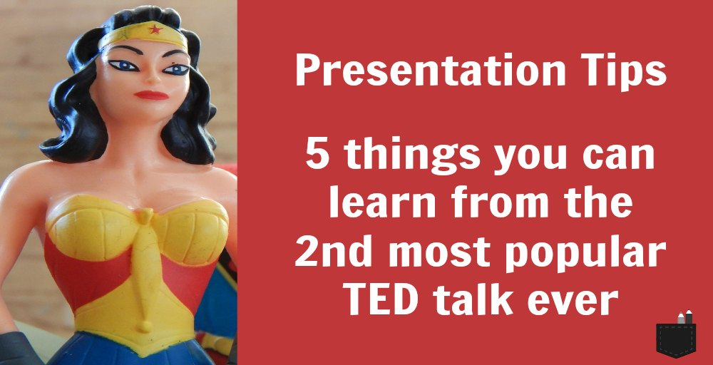 Leave your audience speechless: 5 presentation tips you can learn from the 2nd most popular TED talk ever