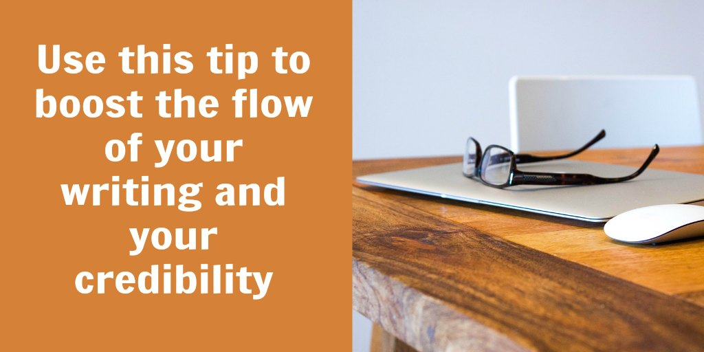 How to write cohesively and improve the flow of your writing