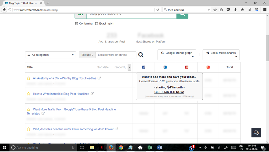 9 blog title generator tools