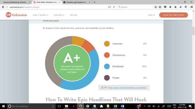 blog title analyzer