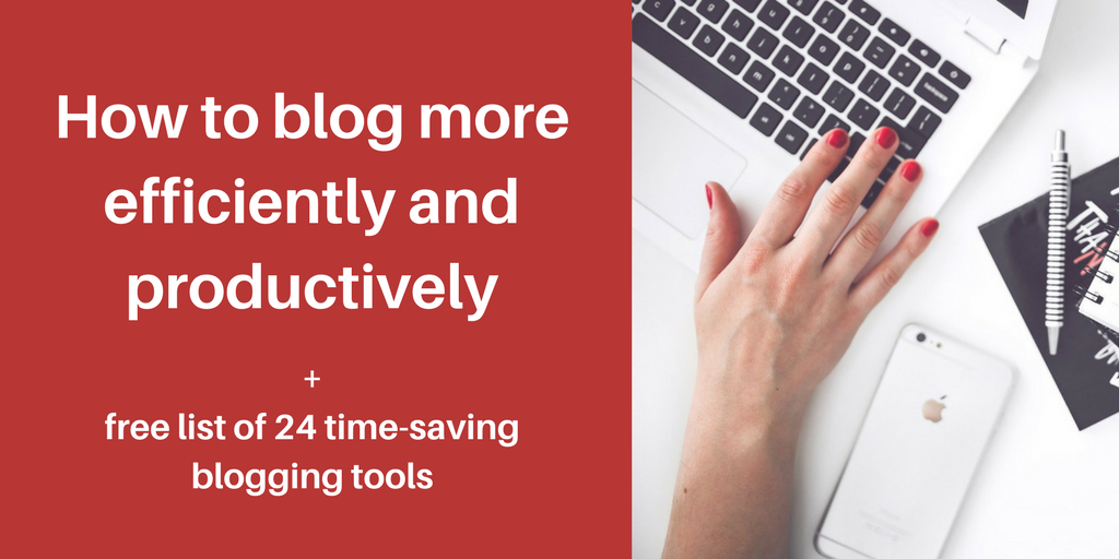 blog efficiently blog post