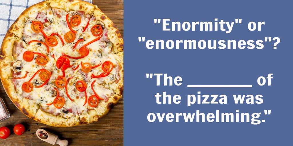 use enormity