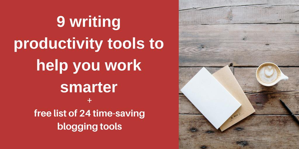 writing productivity tools