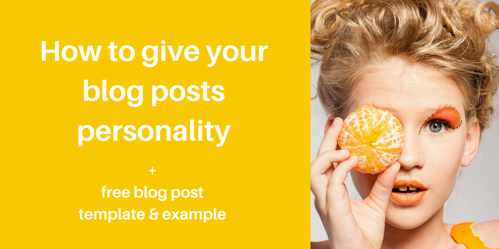 blog posts personality