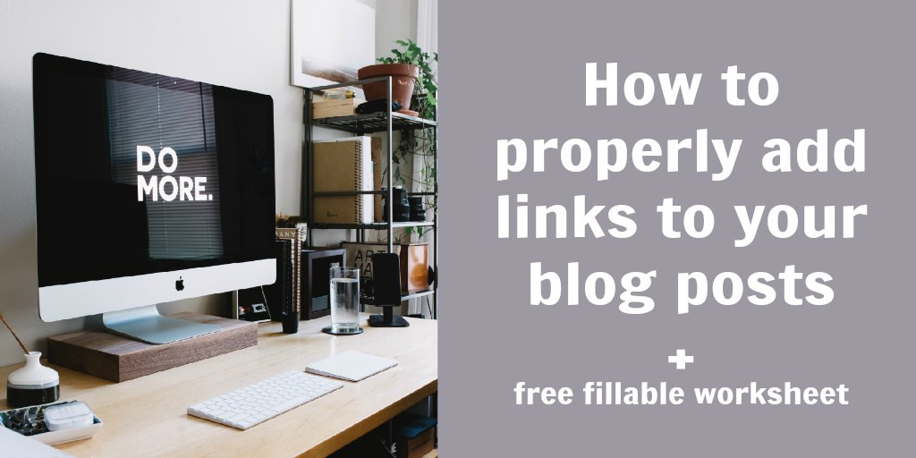 add links to blog posts