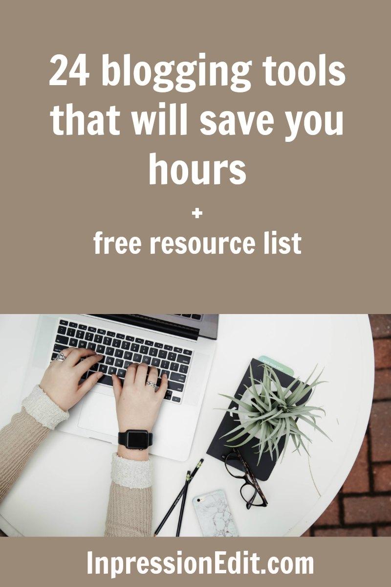 time-saving blogging tools