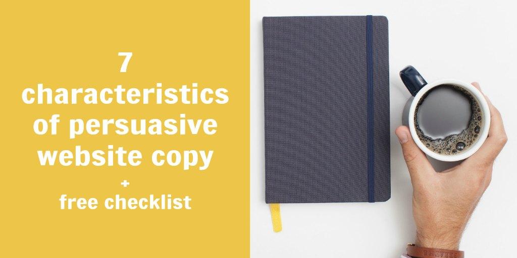 persuasive website copy