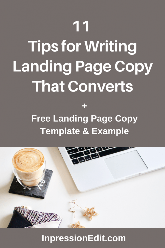 Want to increase conversions on your landing page? Master these 11 essential landing page copy tips + grab my landing page copy template & full example.