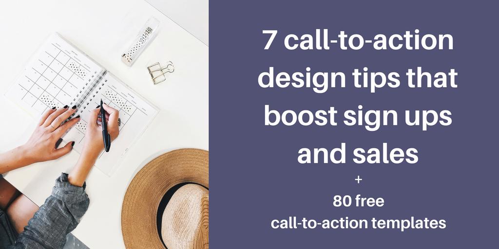 design calls to action