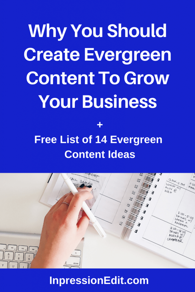 Want more traffic or email subscribers WITHOUT paying for ads? Learn why it pays to create evergreen content + how to make winning evergreen content for your audience.