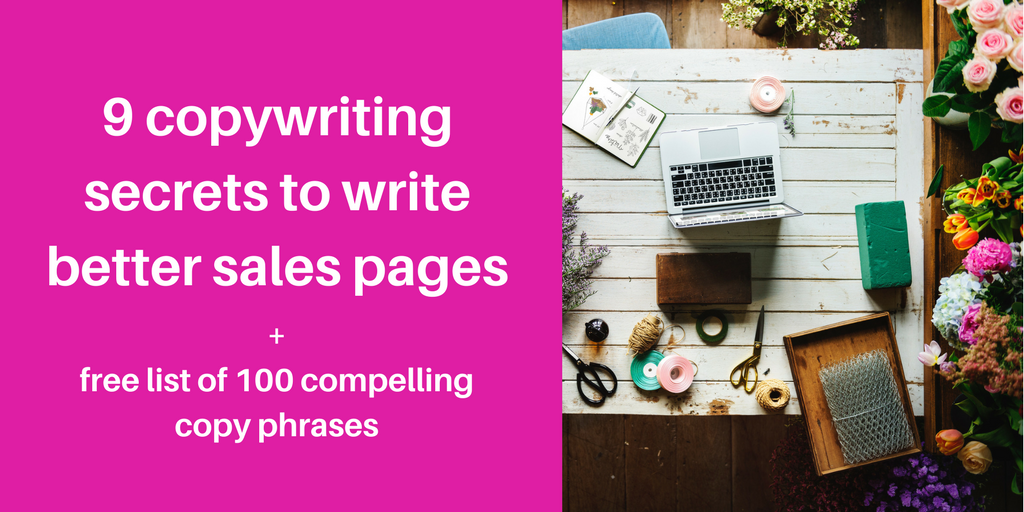 Sales page copywriting services