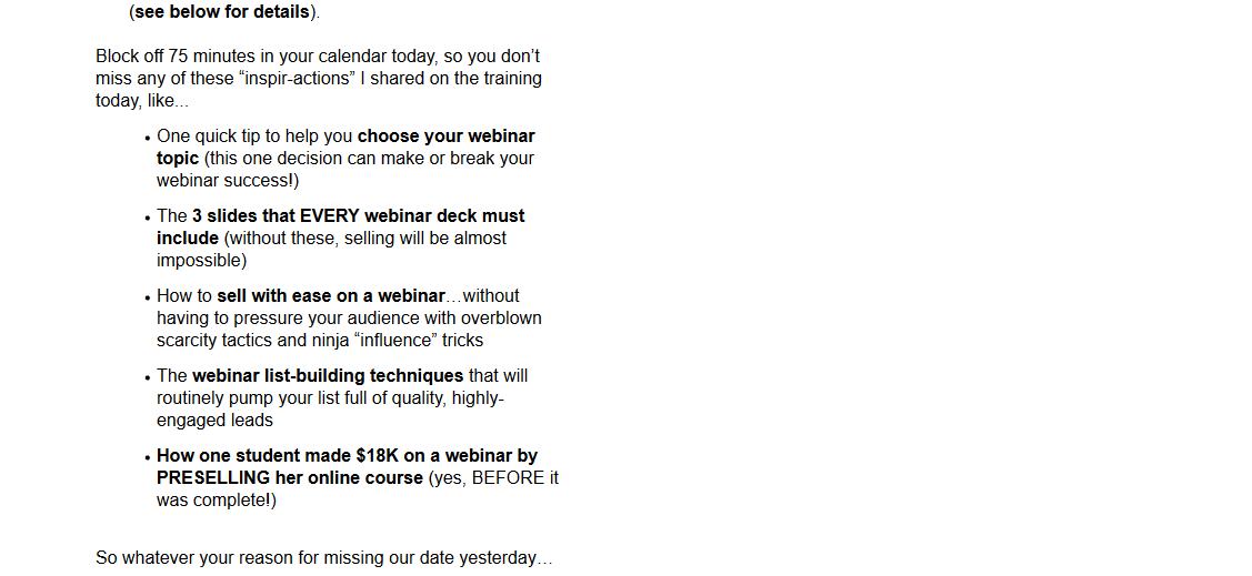 marketing emails