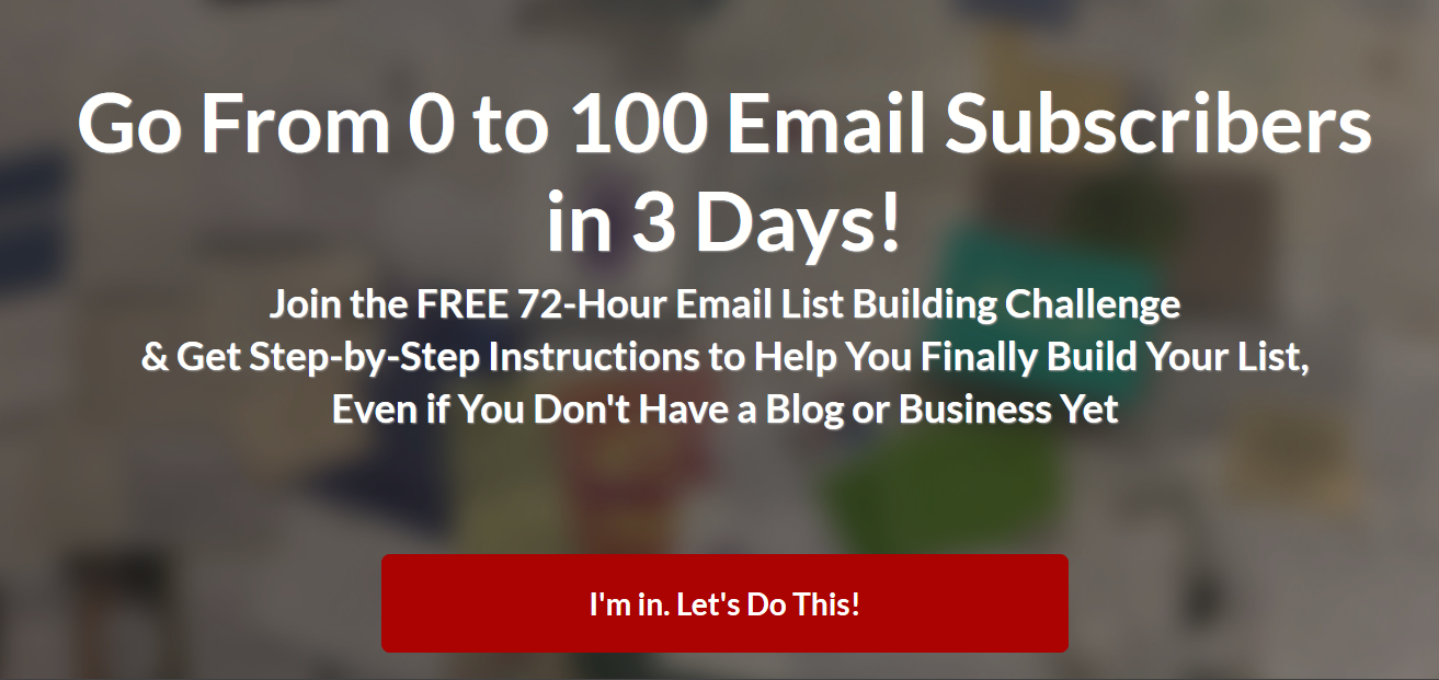 email list incentives