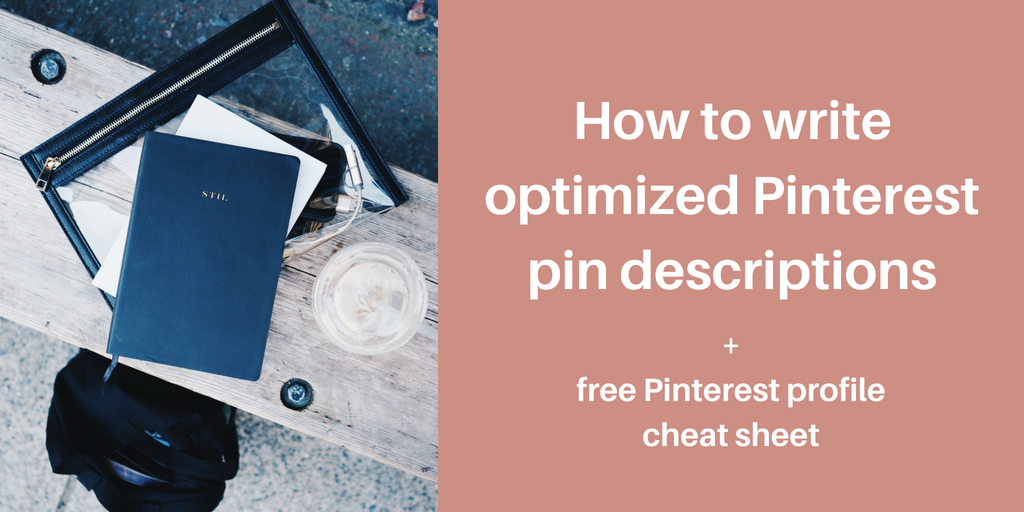 how to write optimized pin descriptions