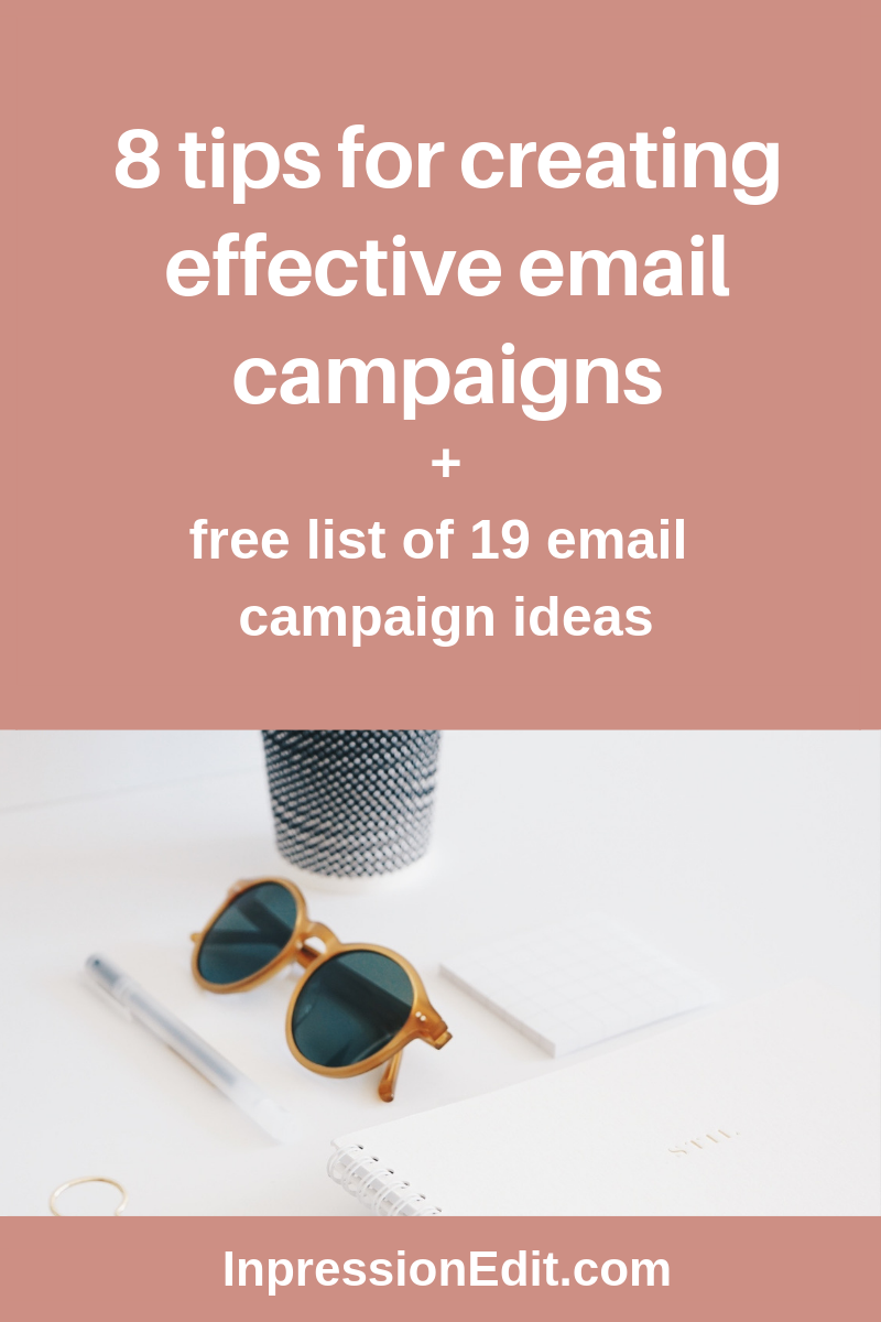 8 tips for writing effective email campaigns