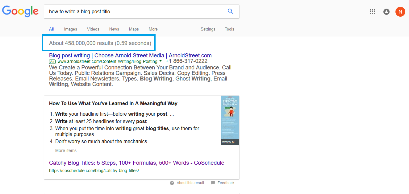 How to do keyword research for blog posts in 5 simple steps + free