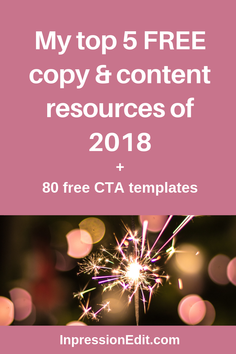 My top 5 resources of 2018