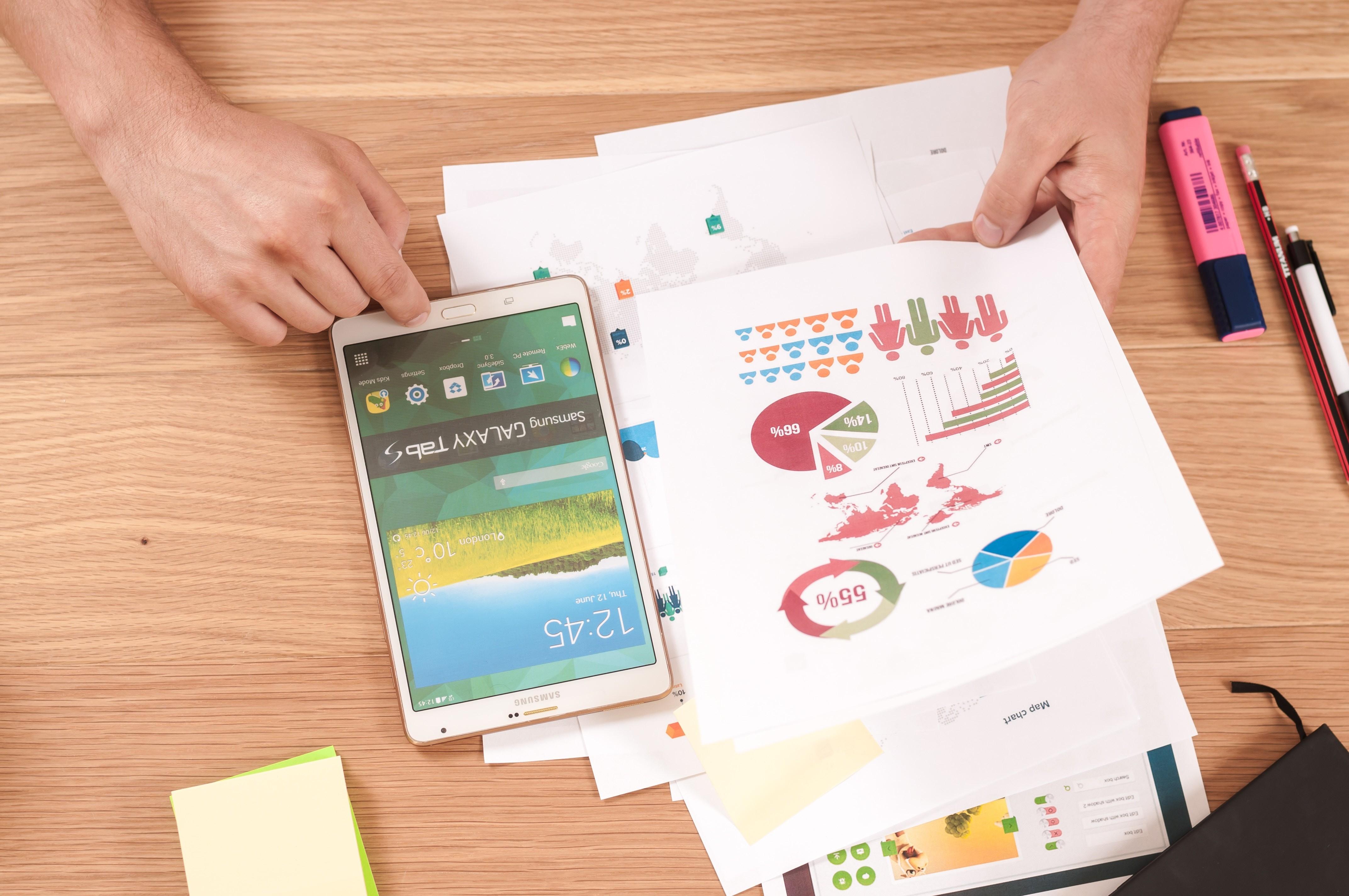Smartphone and analytics