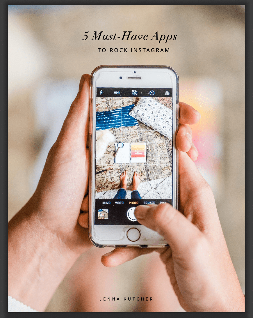 Jenna Kutcher Instagram app resource