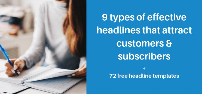types of effective headlines