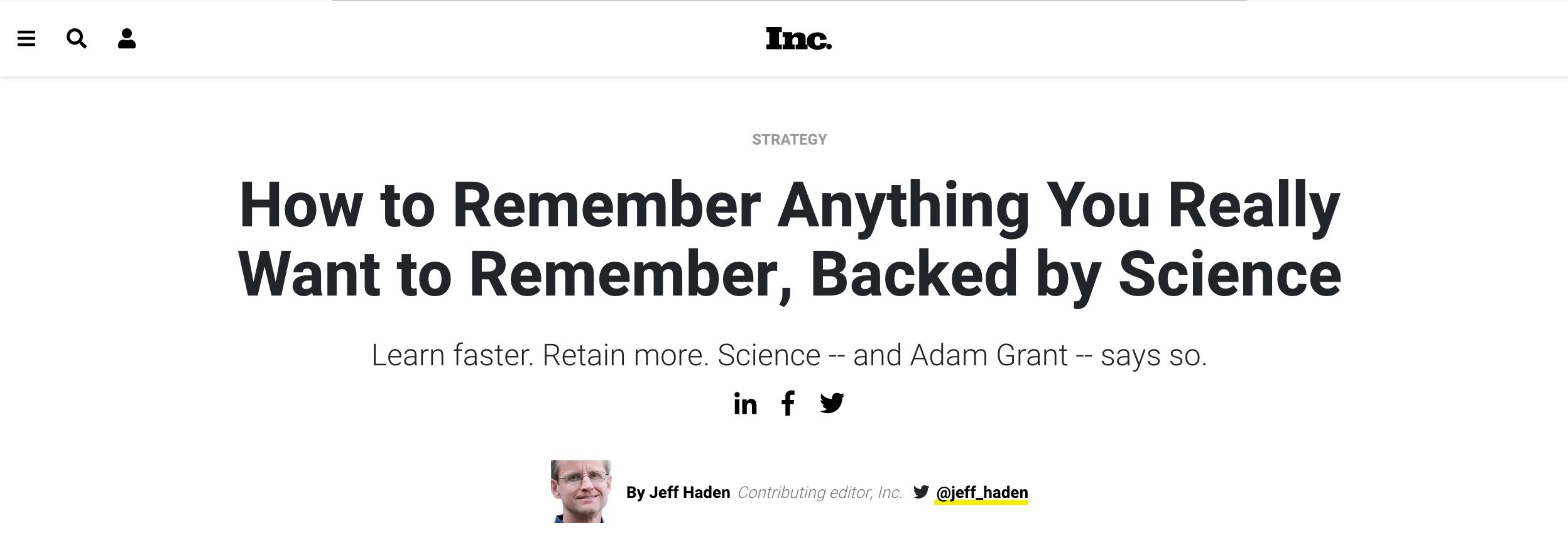 Inc effective headlines example