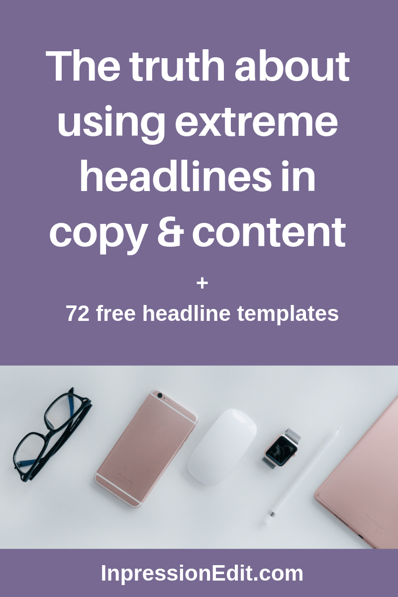 The truth about using extreme headlines