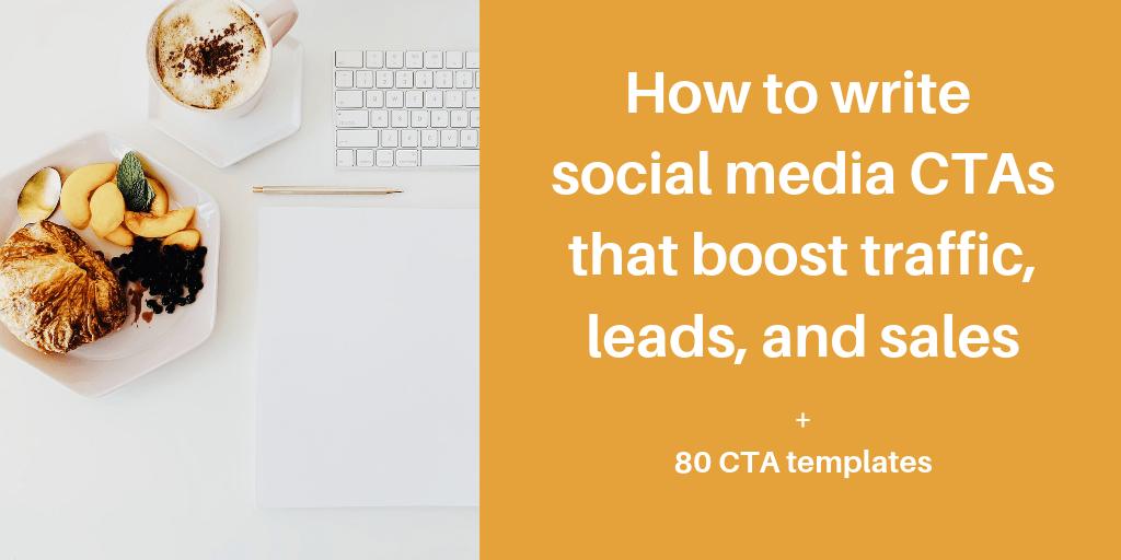 How to write effective social media CTAs