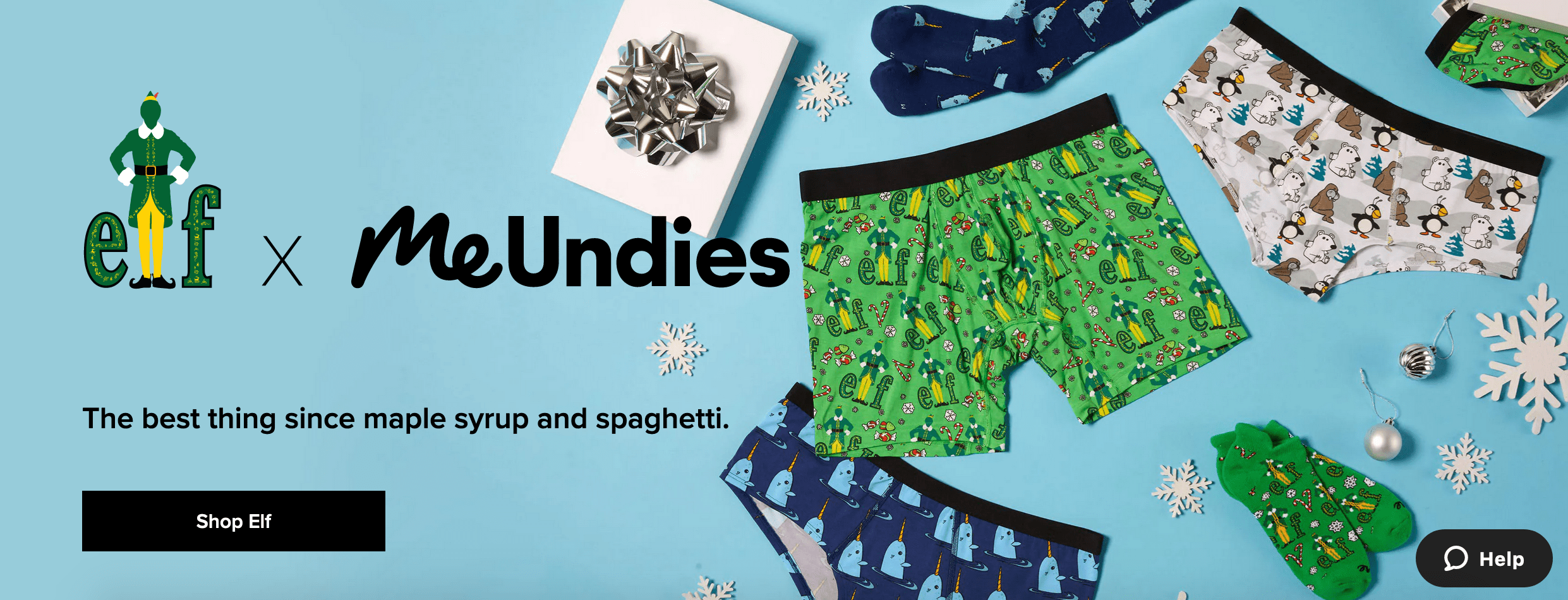MeUndies website