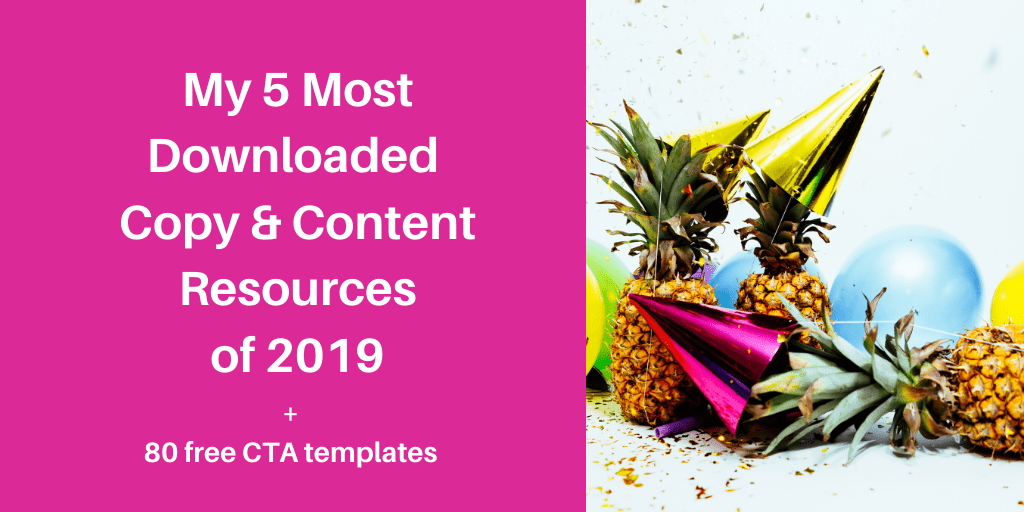 My 5 most downloaded resources of 2019