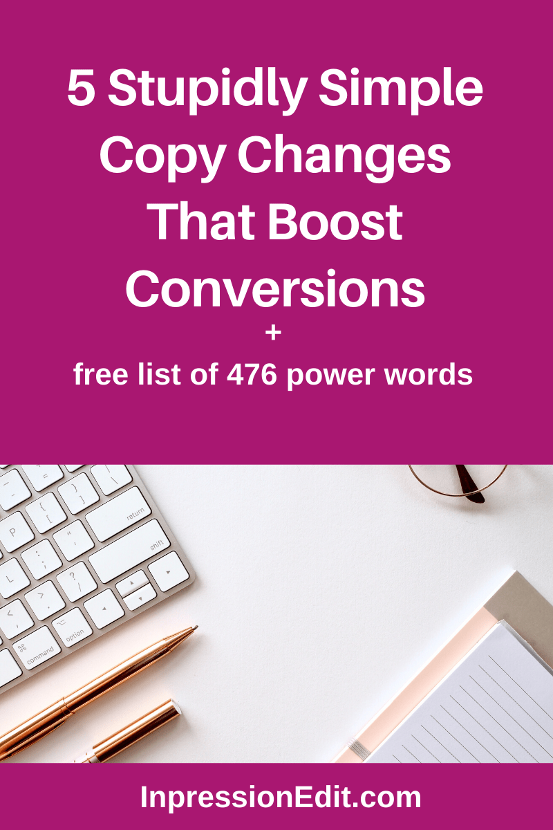 5 Simple Copy Changes That Boost Conversions