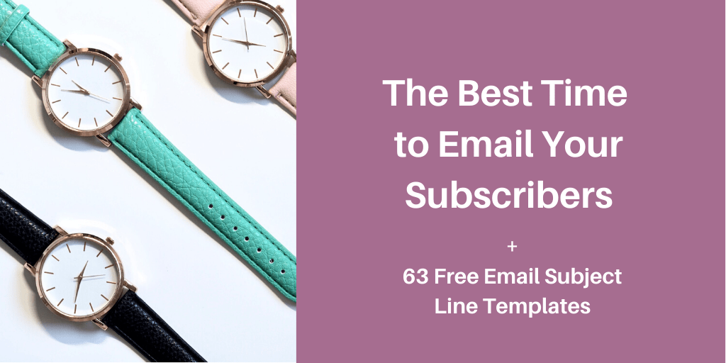 The best time to email your subscribers