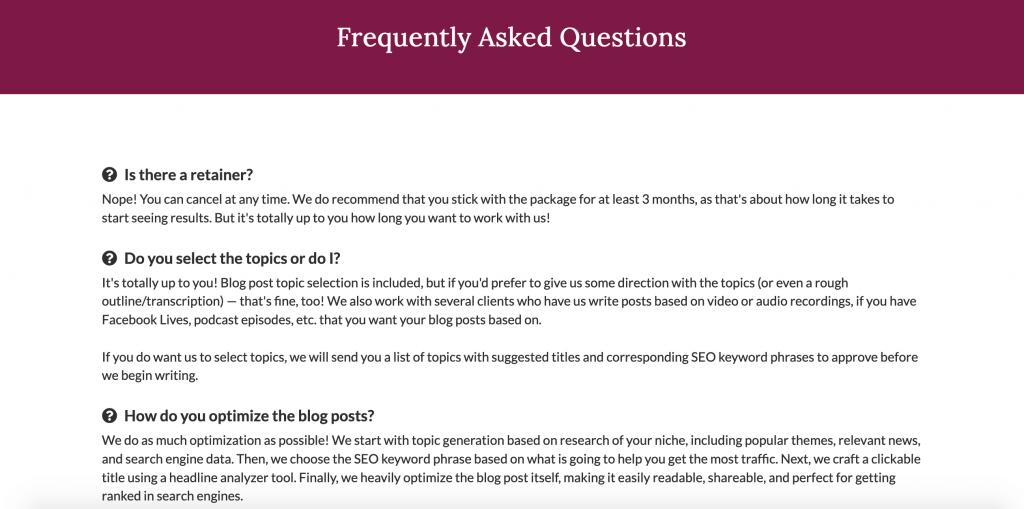Nahmias FAQ