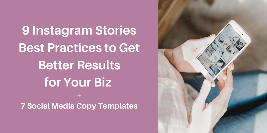 9 Instagram Stories best practices